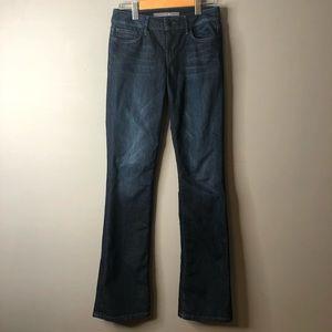 Joes jeans dark denim honey booty fit bootcut 27